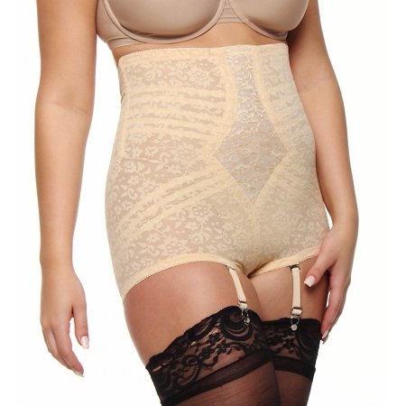 Rago 6107 Lace High Waist Brief Panty (Rago Lace Panties)