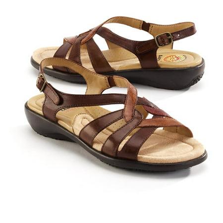 db7e481300e2 Earth Spirit - Earth Spirit - Women s Belinda Leather Sandals ...