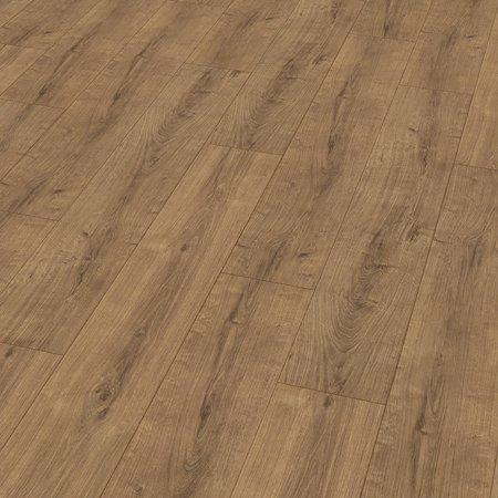 Contour Floor Round Bevel Amber Oak Wood Matte Laminate Floor