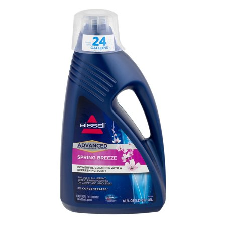 Bissell Advanced Carpet & Upholstery Cleaner Spring Breeze, 62.0 OZ