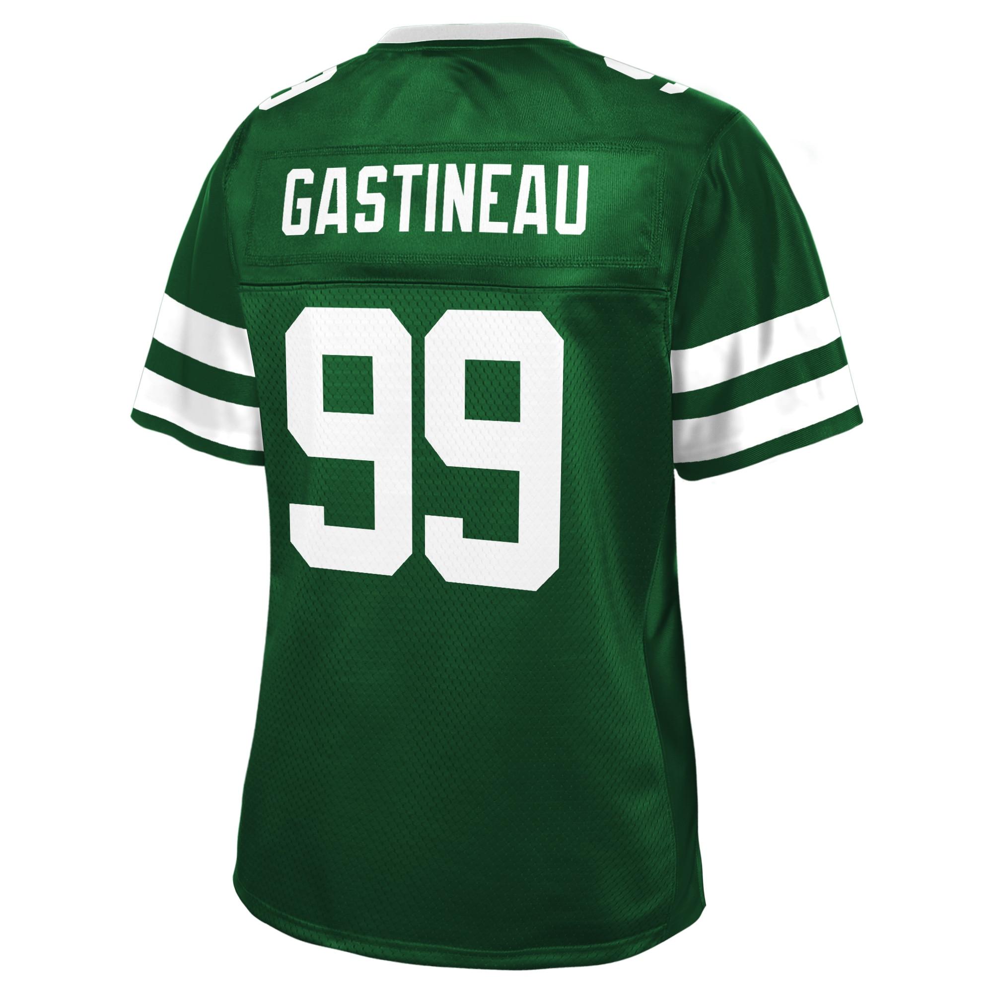Mark Gastineau New York Jets NFL Pro Line Women's Retired Player Jersey - Green