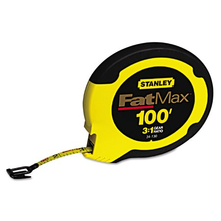 Stanley Bostitch Long Tape Measure - Stanley Tools FatMax Long Tape Measure, 100ft