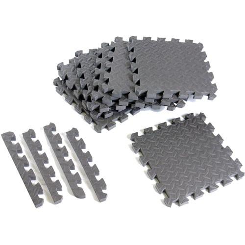 CAP Barbell Antimicrobial Foam Tile Puzzle Mat, 12 Pieces