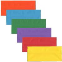 JAM #10 Envelopes, 4 1/8 x 9 1/2, Assorted, 150/Pack