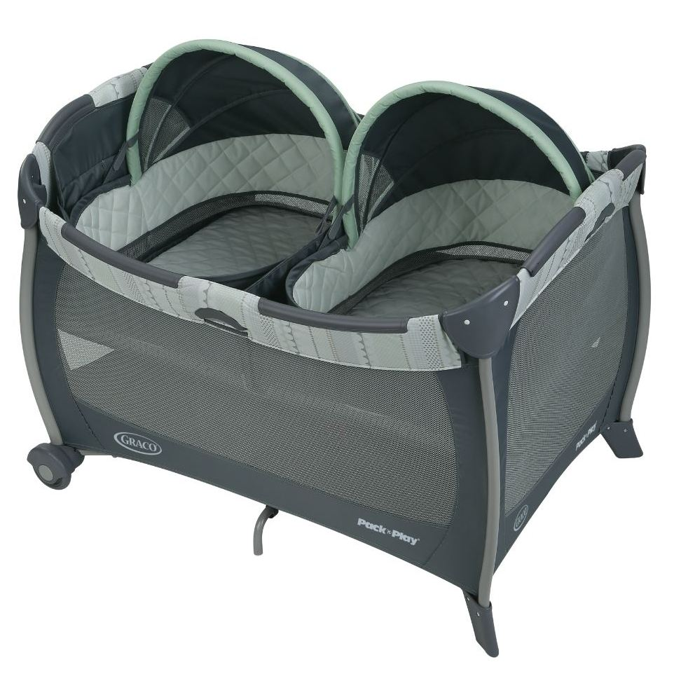 Graco Pack 'n Play with Twin Bassinets - Mason