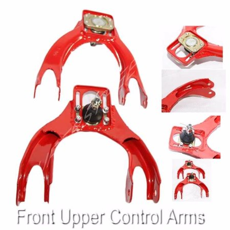 Front Upper ADJ.Camber Red FOR 92-95 Honda Civic 94-01 ACURA -