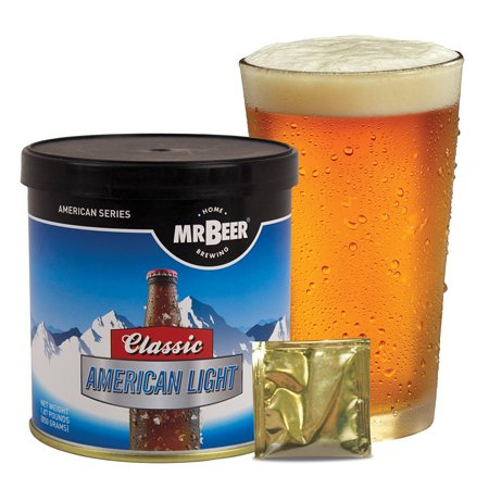 Mr. Beer Classic American Light Beer Making Refill Kit