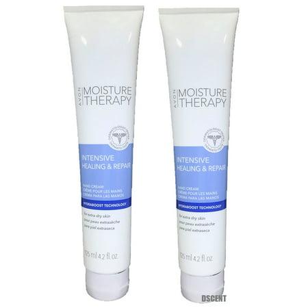 2 Pack Avon Moisture Therapy Intensive Healing&Repair Extra Dry Skin Hand Cream
