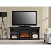 "Manchester Fireplace TV Console for TVs up to 70"", Black"
