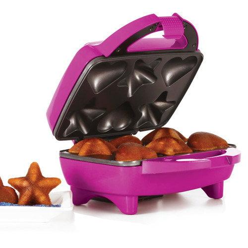 Holstein Housewares Fun Heart and Star Cupcake Maker