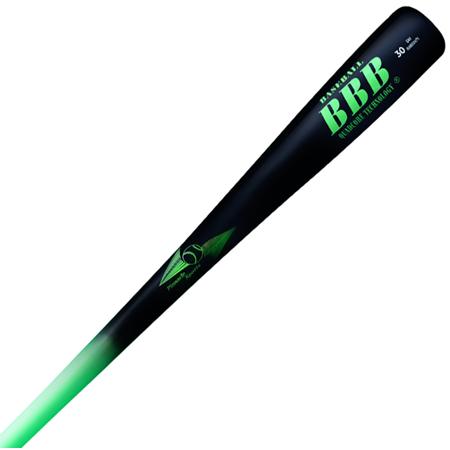 Glass Quad Baseball - Bamboobat Quadcore BBCOR Baseball Bat, 32