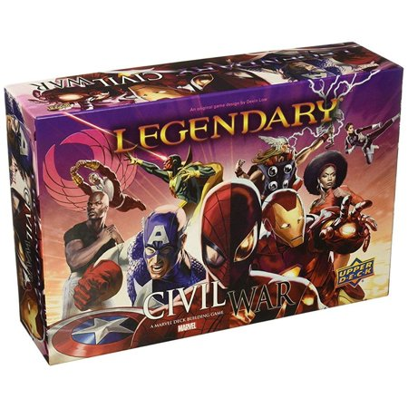 Upper Deck Legendary Civil War Board Game (Best Civil War Board Games)