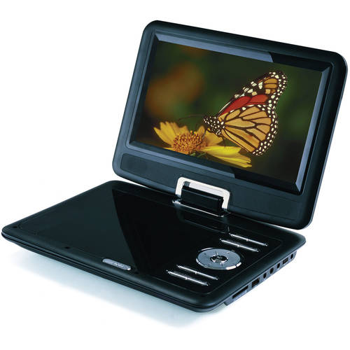 "Sylvania SDVD9000B2 9"" Swivel Screen Portable DVD Player"