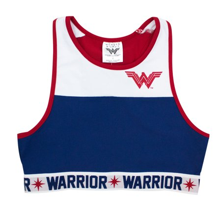 22619cf1edd29 Wonder Woman - Wonder Woman Crop Top Tank Top - Walmart.com