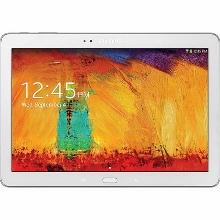 """Refurbished Samsung Galaxy Note 10.1 with WiFi 10.1"""" Touchscreen Tablet PC Featuring Android 4.3 (Jelly Bean) Operating System, White"""