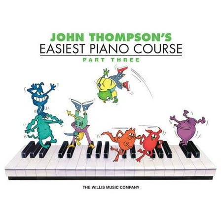 John Thompson's Easiest Piano Course, Parth Three
