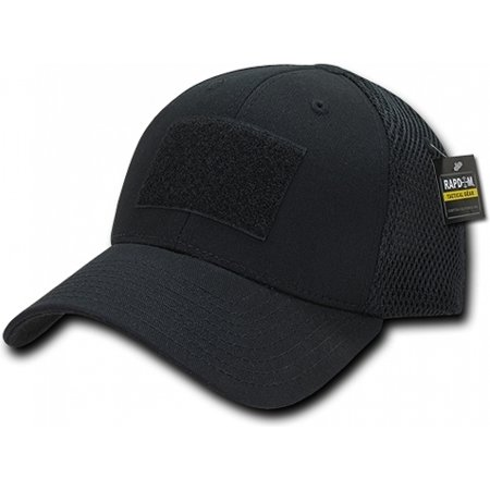 RapDom Tactical Low Crown Flex Mens Cap [Black - FlexFit]