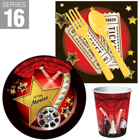 Movie Party Snack Pack For 16](Party Snack Ideas Halloween)