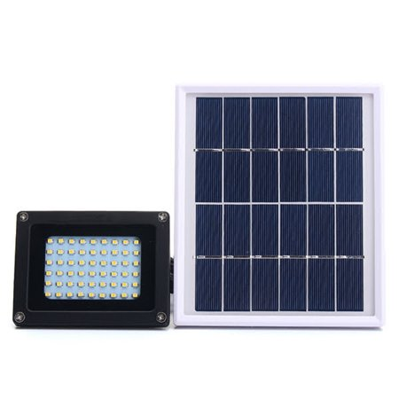 Solar Flood Lights 54 Led 500 Lumens Outdoor Light Waterproof Security With 6w