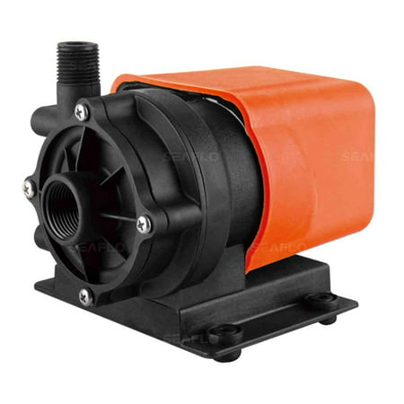 SEAFLO Marine Air Conditioner Magnetic Drive Raw Water Circulation Pump 500 GPH 115V Submersible 115v Solids Handling Water