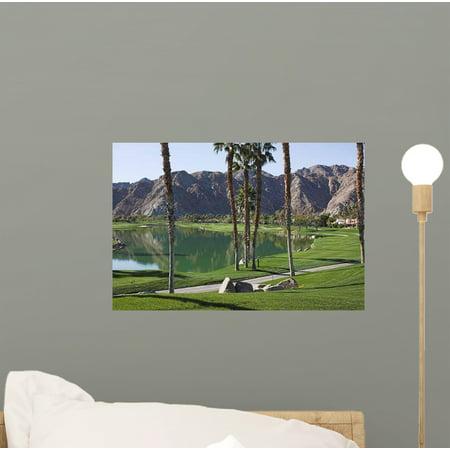 Pga West Golf Course Wall Mural Decal Sticker, Wallmonkeys Peel & Stick Vinyl Graphic (12 in W x 8 in H)