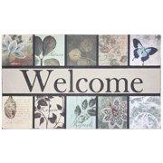 DII Botanical Garden Printed Flocked Doormat