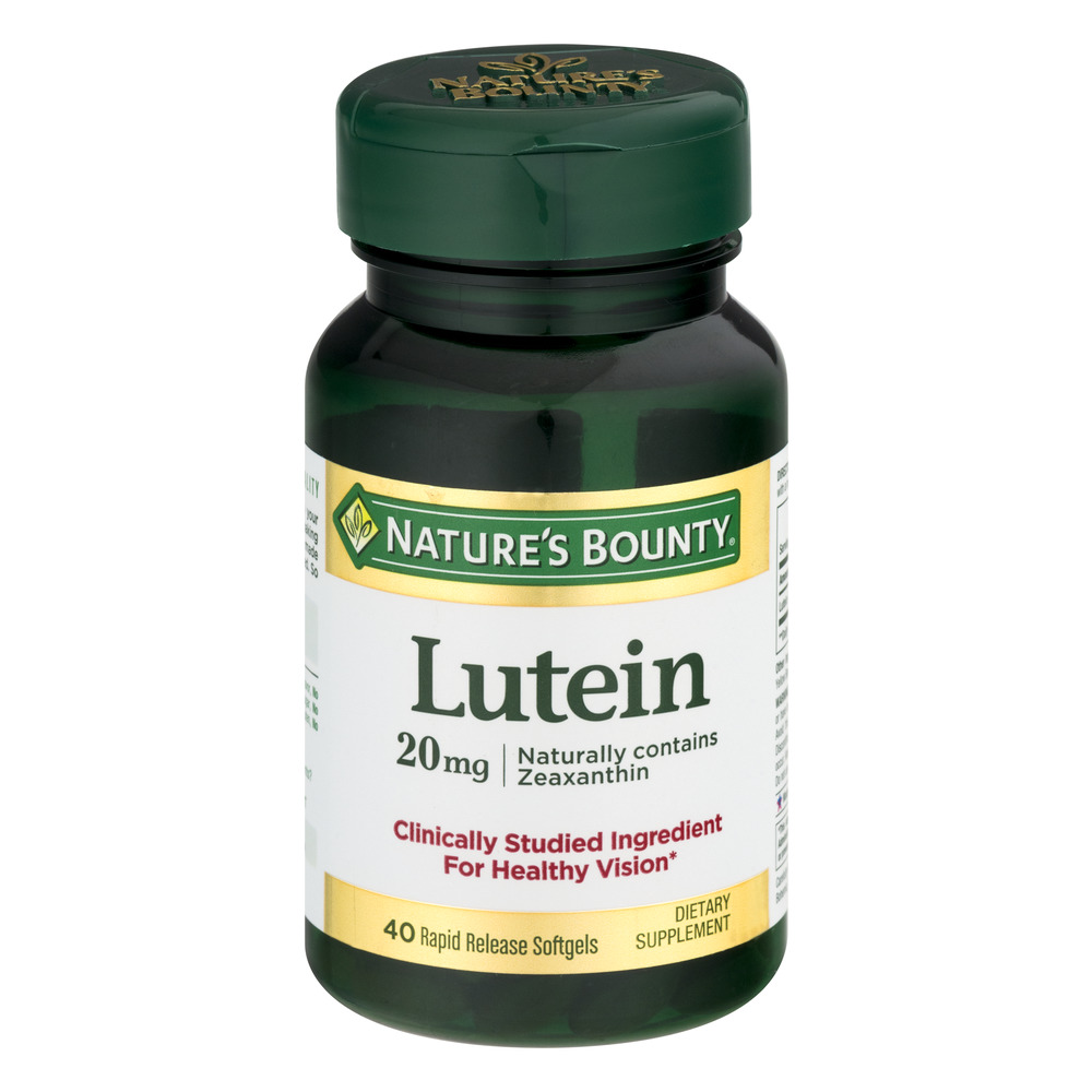 Nature's Bounty Lutein Rapid Release Softgels - 40 CT