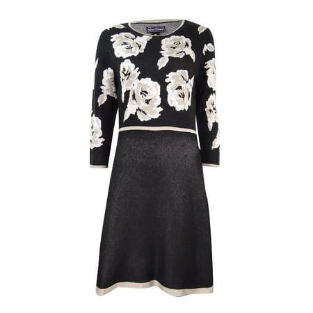 Jessica Howard Women's Petite Floral-Print Fit & Flare Sweater - Buy Jessica Rabbit Dress