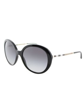 c41a75930069 Product Image Burberry BE4239Q 30018G Black Round Sunglasses