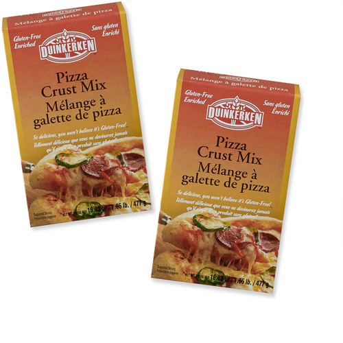 Duinkerken for Full Circle Exchange Gluten-Free Enriched Pizza Crust Mix, 16.83 oz (Pack of 2)