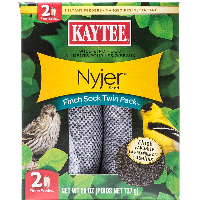 Kaytee Nyjer Seed Finch Sock Twin Pack 2 pack