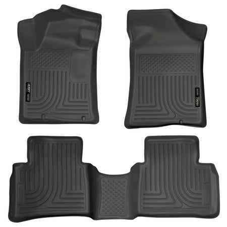 Husky Liners Front & 2nd Seat Floor Liners Fits 13-18 Altima Nov. 2012 or newer
