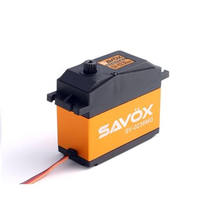 Hobby Rc Savox Savsv0236Mg High Voltage 1/5 Scale Servo 0.17/555.5 @7.4V Servos