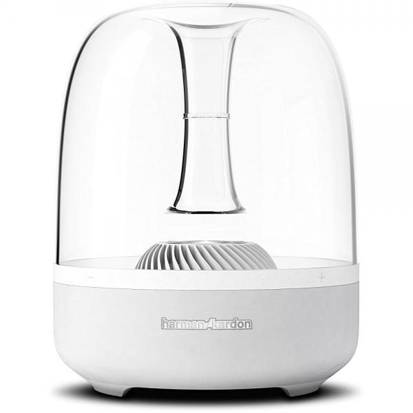 Harman Kardon Aura White Wireless BT Home Speaker System, Apple AirPlay by Harman Kardon
