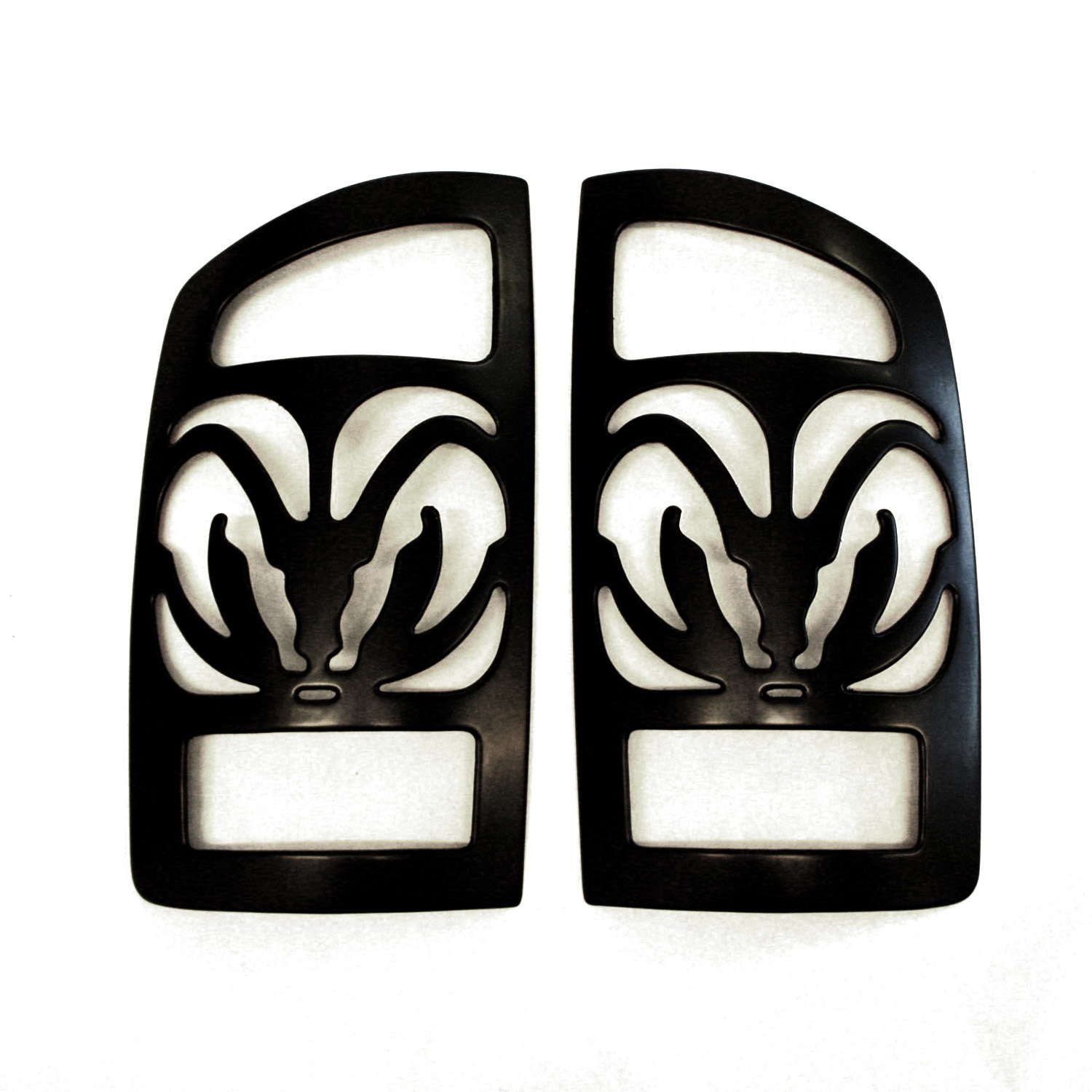All Sales V27703K Big Horns Tail Light Cover Paintable Pair