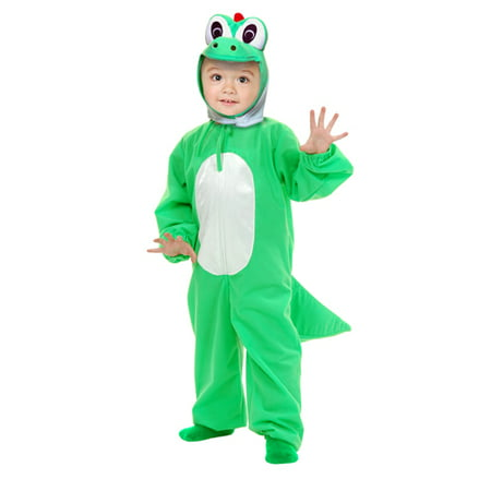 Yoshimoto the Green Dino Toddler Costume - X-Small](Green Olive Costume)