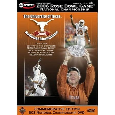 2006 Rose Bowl: Texas vs. USC (Usc Michigan Rose Bowl)