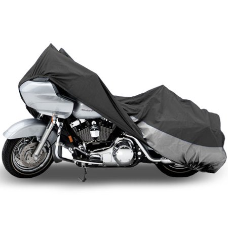 Motorcycle Bike Cover Travel Dust Storage Cover For Harley FLTR Road Glide Custom (Custom Stores)