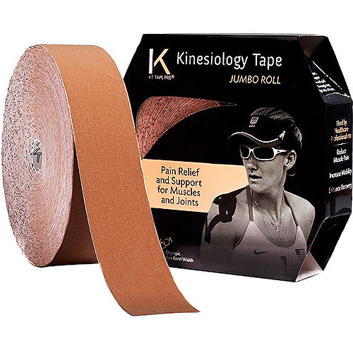 KT TAPE Original, Uncut, 125 Foot, Cotton, Jumbo