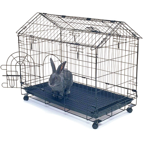 kennel aire bunny house rabbit cage   walmart