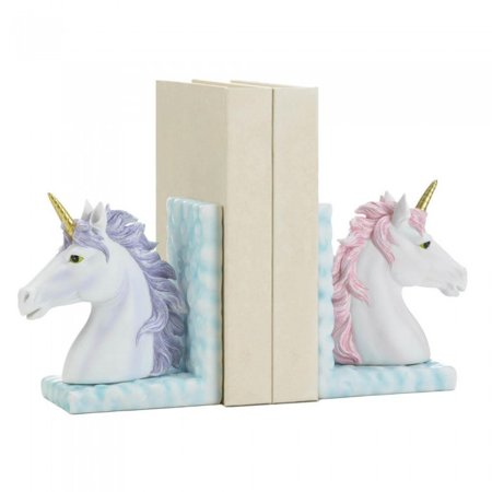MAGICAL UNICORN BOOKENDS Kids Wooden Bookends