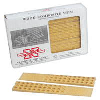 Nelson Wood Shims Wc8/32/15/50 Composite Shims 32Count