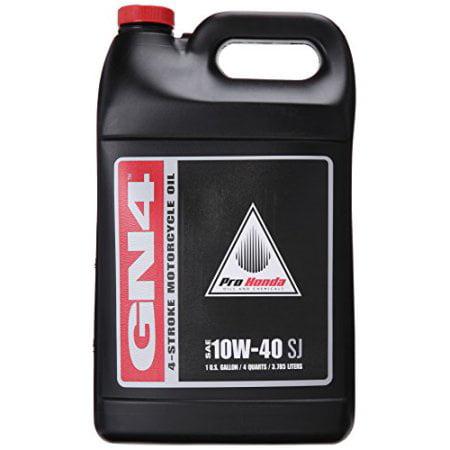 Honda GN4 10W-40 Motorcycle Oil Gallon