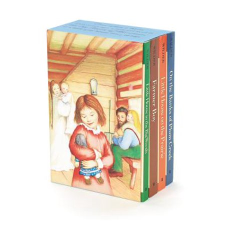 Little House 4-Book Box Set : Little House in the Big Woods, Farmer Boy, Little House on the Prairie, on the Banks of Plum Creek - Halloween Farmer In The Dell