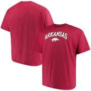 Russell NCAA Arkansas Razorbacks, Big Men's Classic Cotton T-Shirt