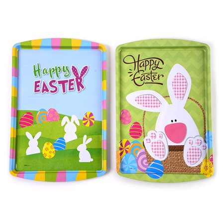 Easter Rectangle Tin Tray by FLOMO