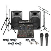 Alto TX15USB with Peavey PV10BT Mixer PA System