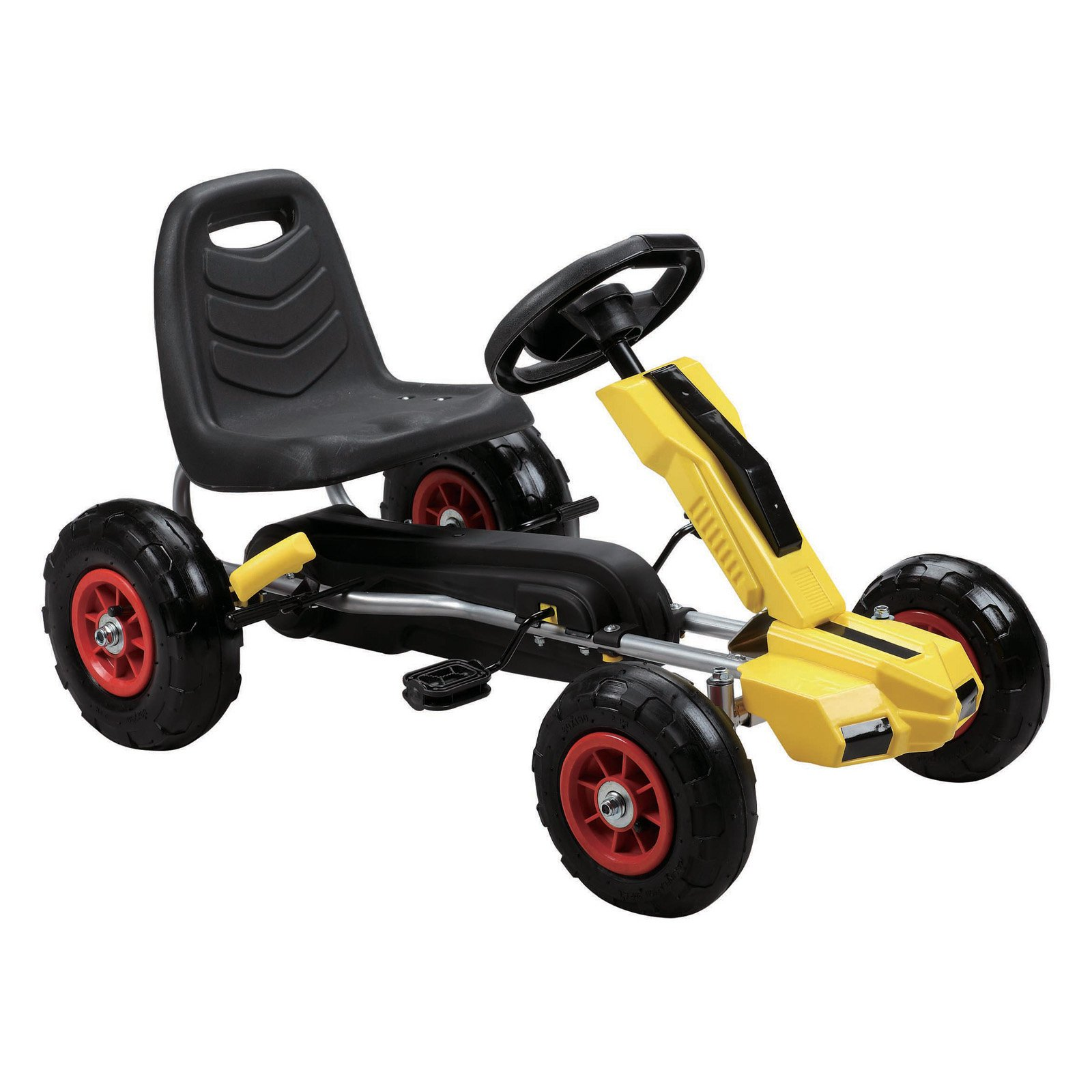 Merske Power Pedal Go-Kart with Pneumatic Tires by Vroom Rider
