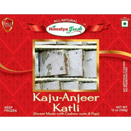 Kaju Anjeer Katli 12oz - Himalya Fresh - All Natural - Indian Sweet / -