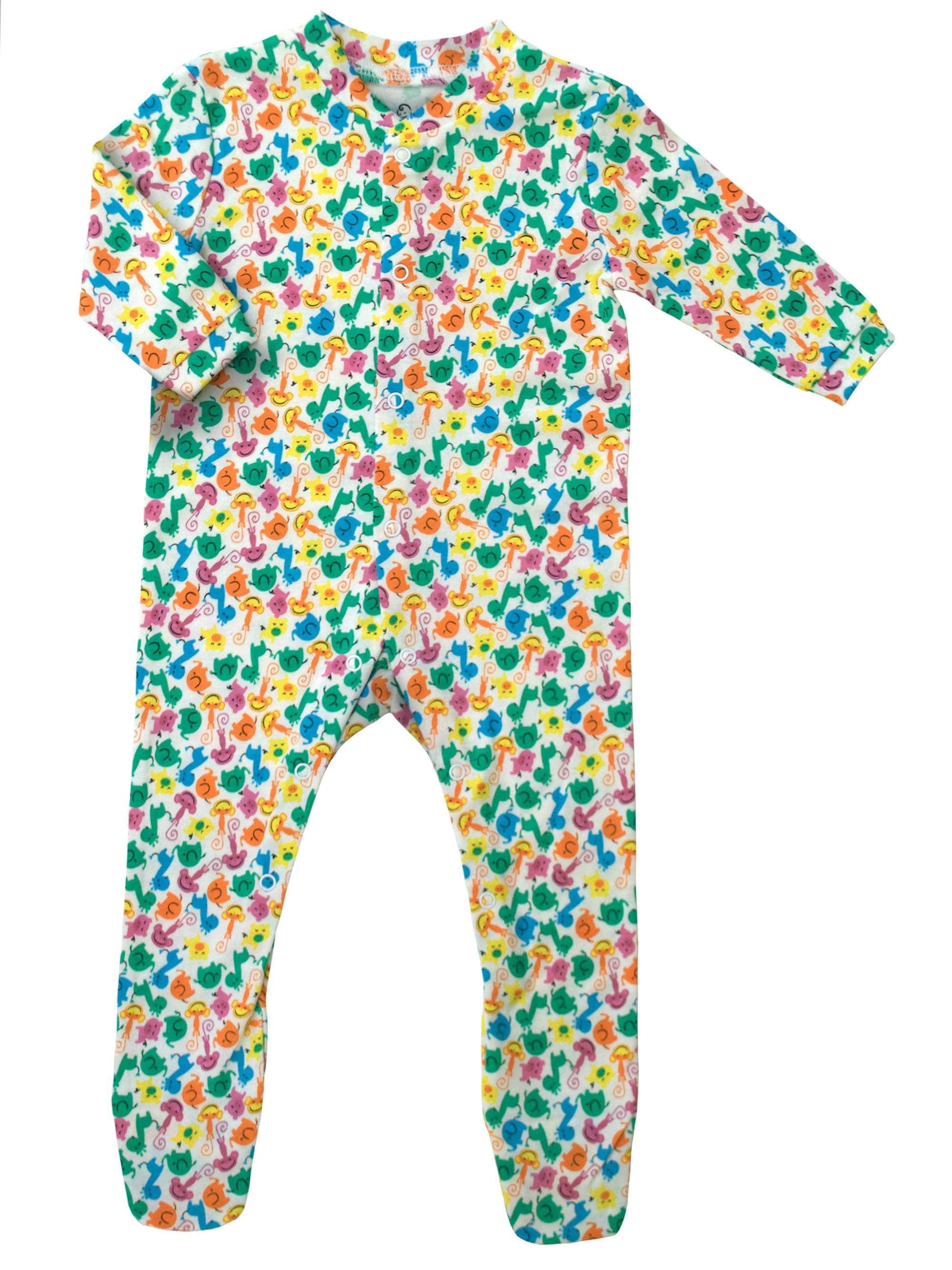KidzStuff Long Sleeve Baby Insect Repellent Pajamas (Unisex)